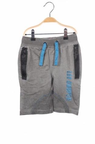 Детски къс панталон Lee Cooper, Размер 5-6y/ 116-122 см, Цвят Сив, Памук, Цена 27,00лв.