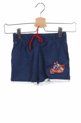 Παιδικό κοντό παντελόνι Marvel, Μέγεθος 5-6y/ 116-122 εκ., Χρώμα Μπλέ, Βαμβάκι, Τιμή 8,77€