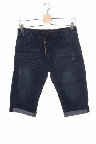 Dětské krátké kalhoty  RG 512, Velikost 13-14y/ 164-168 cm, Barva Modrá, 77% bavlna, 20% polyester, 3% elastan, Cena  335,00Kč