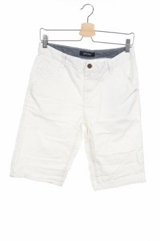 Παιδικό κοντό παντελόνι Tiffosi, Μέγεθος 13-14y/ 164-168 εκ., Χρώμα Λευκό, Βαμβάκι, Τιμή 11,39€