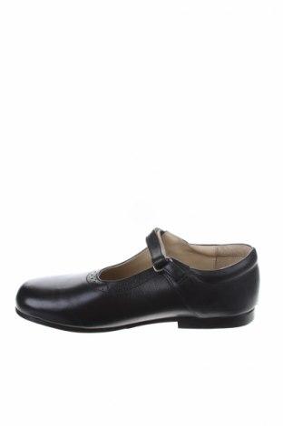 Παιδικά παπούτσια Oncle Edouard, Μέγεθος 36, Χρώμα Μαύρο, Γνήσιο δέρμα, Τιμή 16,29€