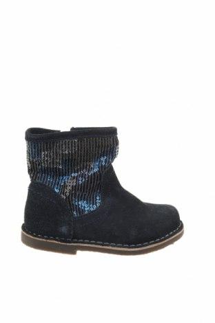 Детски обувки Saxo Blues, Размер 25, Цвят Син, Естествен велур, текстил, Цена 22,25лв.