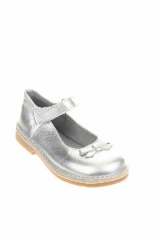 Παιδικά παπούτσια Saxo Blues, Μέγεθος 29, Χρώμα Ασημί, Γνήσιο δέρμα, Τιμή 19,55€
