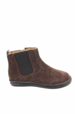 Παιδικά παπούτσια Saxo Blues, Μέγεθος 23, Χρώμα Καφέ, Φυσικό σουέτ, Τιμή 17,35€