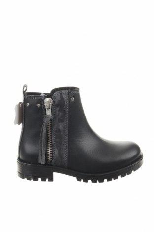 Παιδικά παπούτσια Saxo Blues, Μέγεθος 26, Χρώμα Μαύρο, Γνήσιο δέρμα, Τιμή 16,84€