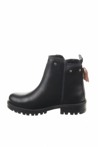 Παιδικά παπούτσια Saxo Blues, Μέγεθος 25, Χρώμα Μαύρο, Γνήσιο δέρμα, Τιμή 14,29€