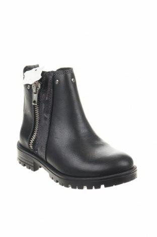 Παιδικά παπούτσια Saxo Blues, Μέγεθος 26, Χρώμα Μαύρο, Γνήσιο δέρμα, Τιμή 14,29€