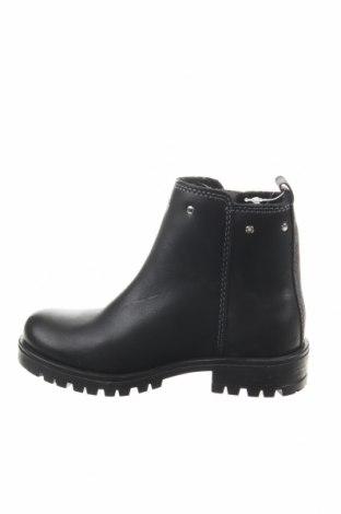 Παιδικά παπούτσια Saxo Blues, Μέγεθος 25, Χρώμα Μαύρο, Γνήσιο δέρμα, Τιμή 10,39€
