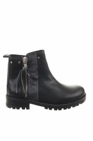 Παιδικά παπούτσια Saxo Blues, Μέγεθος 29, Χρώμα Μαύρο, Γνήσιο δέρμα, Τιμή 16,84€