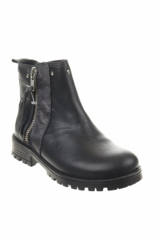 Παιδικά παπούτσια Saxo Blues, Μέγεθος 29, Χρώμα Μαύρο, Γνήσιο δέρμα, Τιμή 16,29€