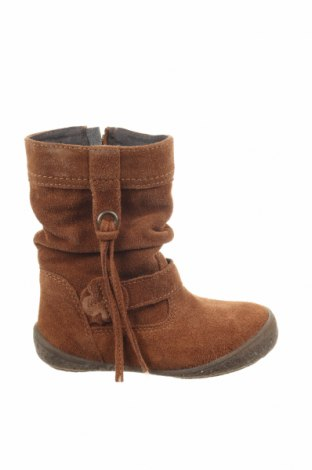 Παιδικά παπούτσια Saxo Blues, Μέγεθος 25, Χρώμα Καφέ, Φυσικό σουέτ, Τιμή 11,97€