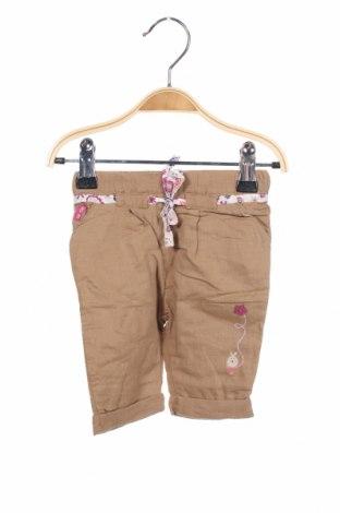 Παιδικό παντελόνι La Compagnie des Petits, Μέγεθος 2-3m/ 56-62 εκ., Χρώμα Καφέ, 55% λινό, 45% βαμβάκι, Τιμή 9,60€