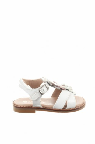 Детски сандали, Размер 21, Цвят Бял, Естествена кожа, Цена 51,75лв.