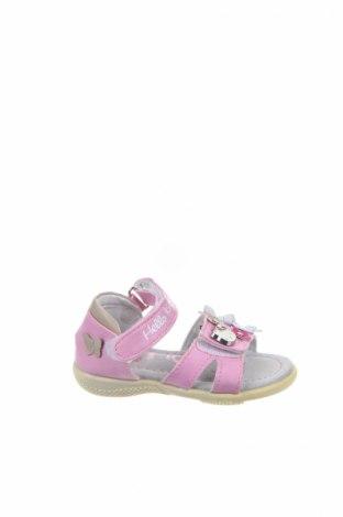 Детски сандали, Размер 20, Цвят Розов, Еко кожа, Цена 18,62лв.