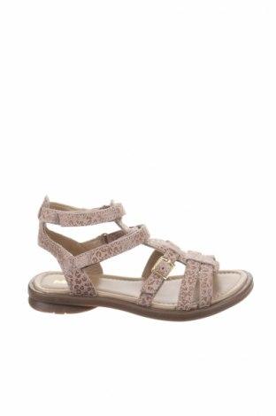 Детски сандали Mod8, Размер 31, Цвят Бежов, Естествен велур, Цена 59,25лв.