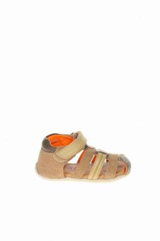 Παιδικά σανδάλια Obaibi, Μέγεθος 20, Χρώμα Πολύχρωμο, Φυσικό σουέτ, Τιμή 20,63€