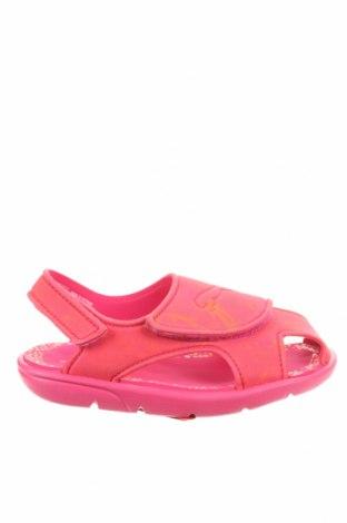 Παιδικά σανδάλια PUMA, Μέγεθος 27, Χρώμα Ρόζ , Πολυουρεθάνης, Τιμή 19,77€