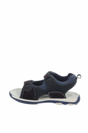 Детски сандали Saxo Blues, Размер 28, Цвят Син, Текстил, еко кожа, естествен велур, Цена 36,75лв.