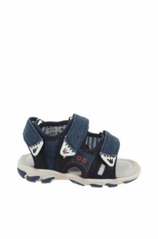 Παιδικά σανδάλια Saxo Blues, Μέγεθος 21, Χρώμα Μπλέ, Κλωστοϋφαντουργικά προϊόντα, Τιμή 13,39€