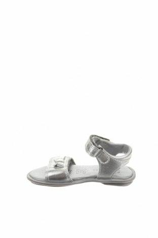 Детски сандали Saxo Blues, Размер 24, Цвят Сив, Естествена кожа, Цена 15,87лв.