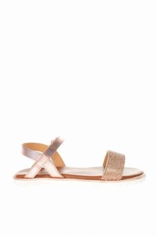 Детски сандали Walk Side, Размер 33, Цвят Златист, Еко кожа, Цена 31,50лв.