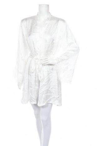 Халат Hunkemoller, Размер XL, Цвят Бял, Полиестер, Цена 38,35лв.