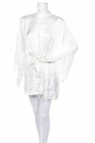 Халат Hunkemoller, Размер M, Цвят Бял, Полиестер, Цена 37,17лв.