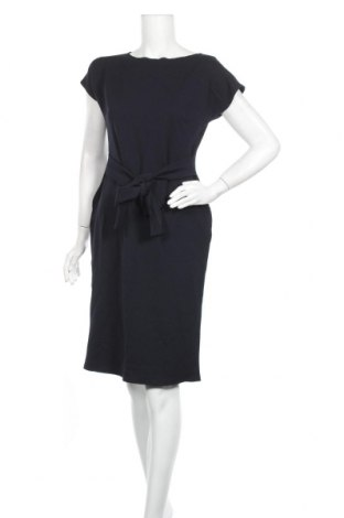 Кожена рокля Awama, Размер S, Цвят Син, 95% полиестер, 5% еластан, Цена 17,70лв.