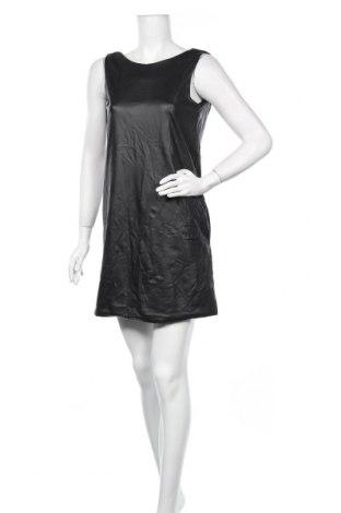 Δερμάτινο φόρεμα Mela London, Μέγεθος S, Χρώμα Μαύρο, Δερματίνη, Τιμή 8,54€