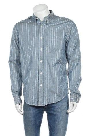 Ανδρικό πουκάμισο Abercrombie & Fitch, Μέγεθος L, Χρώμα Μπλέ, Βαμβάκι, Τιμή 13,25€