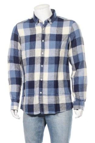Мъжка риза Best Mountain, Размер XL, Цвят Многоцветен, 55% лен, 45% памук, Цена 25,37лв.