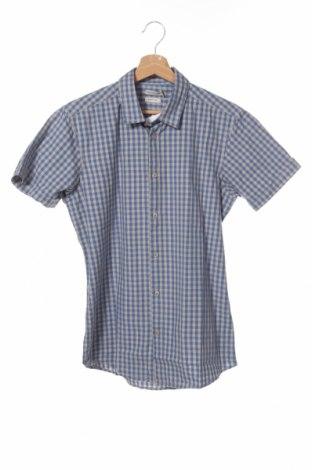 Мъжка риза Best Mountain, Размер S, Цвят Син, 100% памук, Цена 21,07лв.