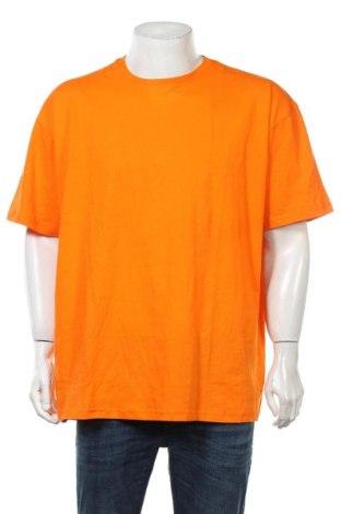 Ανδρικό t-shirt Boohoo, Μέγεθος S, Χρώμα Πορτοκαλί, Βαμβάκι, Τιμή 6,96€