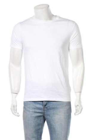 Мъжка тениска Burton of London, Размер S, Цвят Бял, Памук, Цена 24,70лв.