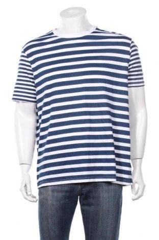Мъжка тениска Burton of London, Размер XL, Цвят Син, Памук, Цена 27,30лв.