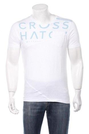 Ανδρικό t-shirt Crosshatch, Μέγεθος S, Χρώμα Λευκό, Βαμβάκι, Τιμή 11,73€