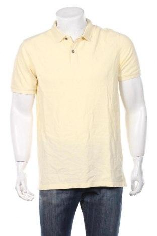 Ανδρικό t-shirt Jack & Jones, Μέγεθος L, Χρώμα Κίτρινο, Βαμβάκι, Τιμή 5,80€