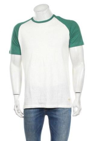 Ανδρικό t-shirt Jack & Jones, Μέγεθος L, Χρώμα Λευκό, 98% βαμβάκι, 2% πολυεστέρας, Τιμή 9,05€