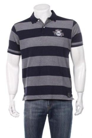 Ανδρικό t-shirt Kitaro, Μέγεθος M, Χρώμα Μπλέ, Βαμβάκι, Τιμή 12,27€
