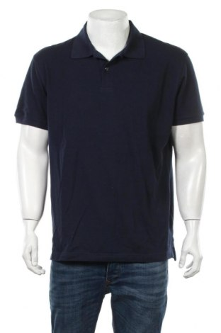 Ανδρικό t-shirt Van Laack, Μέγεθος L, Χρώμα Μπλέ, Βαμβάκι, Τιμή 23,12€