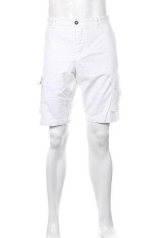 Ανδρικό κοντό παντελόνι 40Weft, Μέγεθος L, Χρώμα Λευκό, Βαμβάκι, Τιμή 10,83€