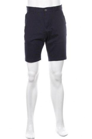 Мъжки къс панталон Burton of London, Размер S, Цвят Син, 97% памук, 3% еластан, Цена 36,40лв.