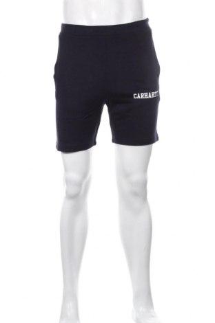Мъжки къс панталон Carhartt, Размер XS, Цвят Син, 80% памук, 20% полиестер, Цена 42,90лв.