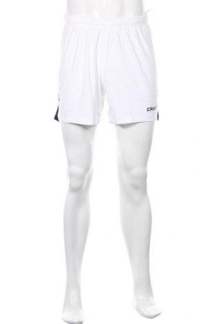 Мъжки къс панталон Craft, Размер M, Цвят Бял, Полиестер, Цена 27,60лв.