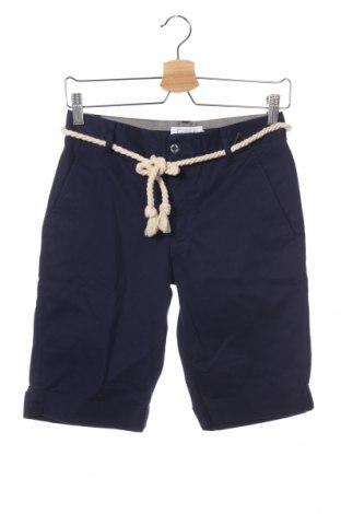 Мъжки къс панталон Eleven Paris, Размер XS, Цвят Син, Памук, Цена 26,25лв.