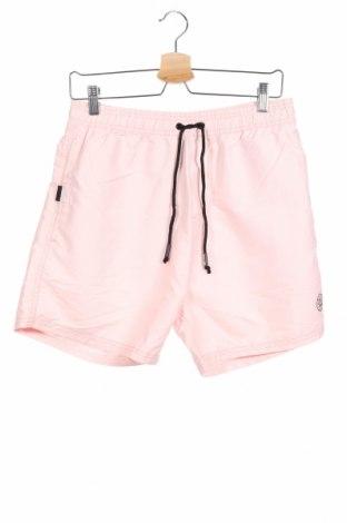 Ανδρικό κοντό παντελόνι Smith & Jones, Μέγεθος M, Χρώμα Ρόζ , Πολυεστέρας, Τιμή 15,88€