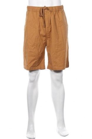 Мъжки къс панталон Weekday, Размер L, Цвят Кафяв, Памук, Цена 14,82лв.