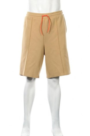 Ανδρικό κοντό παντελόνι Weekday, Μέγεθος M, Χρώμα  Μπέζ, 80% πολυεστέρας, 17% βισκόζη, 3% ελαστάνη, Τιμή 8,62€