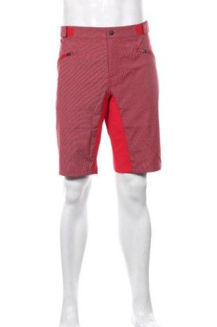 Мъжки къс панталон Ziener, Размер XL, Цвят Червен, 54% полиестер, 42% полиамид, 4% еластан, Цена 37,40лв.