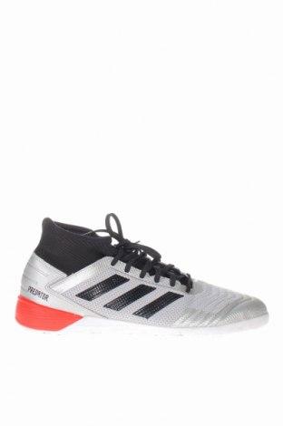 Ανδρικά παπούτσια Adidas, Μέγεθος 45, Χρώμα Γκρί, Δερματίνη, κλωστοϋφαντουργικά προϊόντα, Τιμή 27,77€